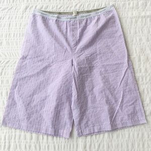 Life Is Good Seersucker Lounge Shorts XL NWT